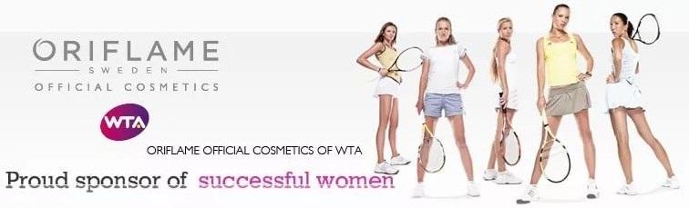 Орифлэйм партнерство с профессиональной Женской теннисной ассоциацией (WTA)
