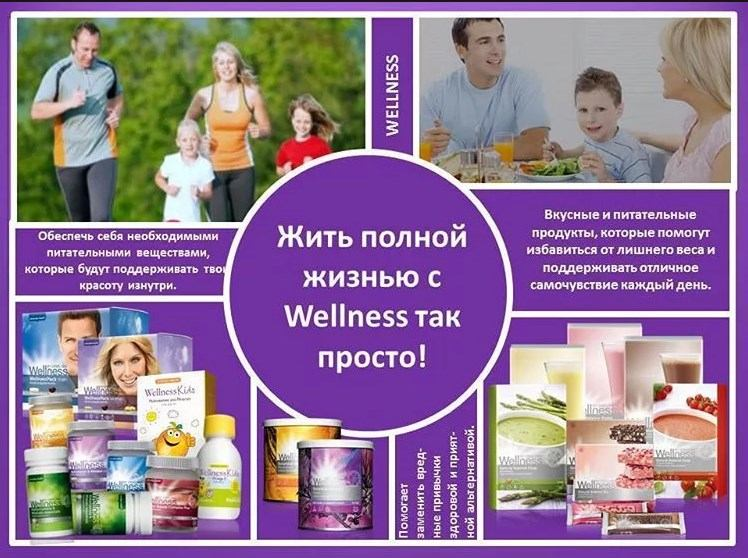 Produciya Oriflejm Wellness - Продукция Орифлейм