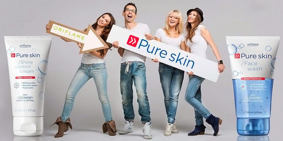 Pure Skin Oriflame - Как вылечить прыщи?