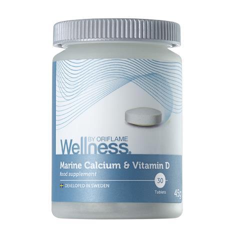 Marine Calcium Vitamin D Wellness - Marine Calcium & Vitamin D - новинка Wellness Кальций