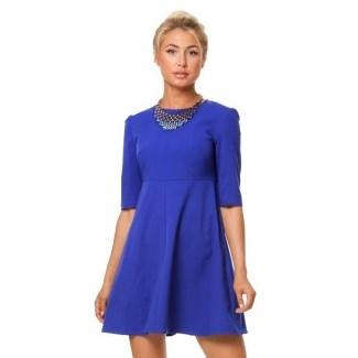Sinee Platie - С чем носить синее платье