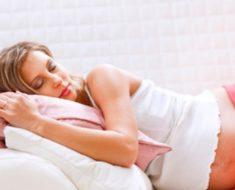 Бессонница во время беременности